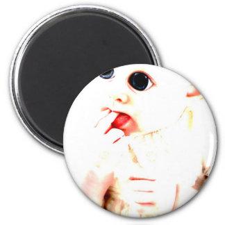YouMa Alien Baby 2 Fridge Magnets