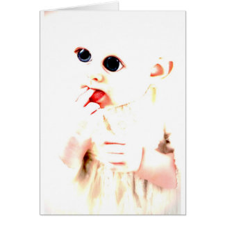YouMa Alien Baby 2 Greeting Cards