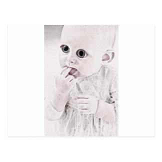 YouMa Alien Baby 3 Postcard