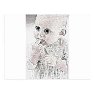 YouMa Alien Baby 4 Postcard