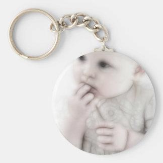 YouMa Baby 1 Basic Round Button Keychain