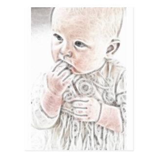 YouMa Baby 2 Post Card