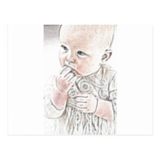 YouMa Baby 2 Postcard