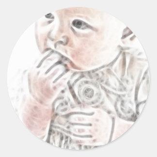 YouMa Baby 2 Round Sticker