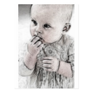 YouMa Baby 5 Postcard