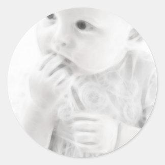 YouMa Baby 6 Classic Round Sticker