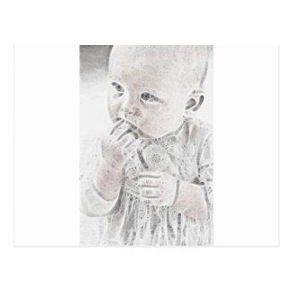 YouMa Baby 8 Postcard