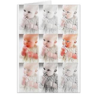 YouMa Baby Montage 1 Card