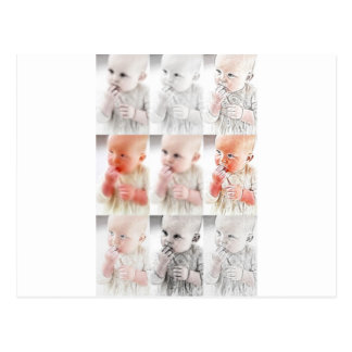 YouMa Baby Montage 1 Postcard