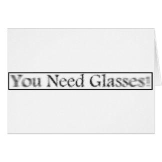 youneedglasses card