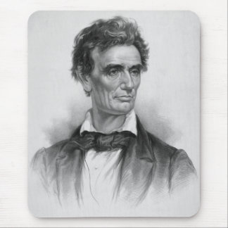 Young Abe Lincoln Artwork Mouse Pad