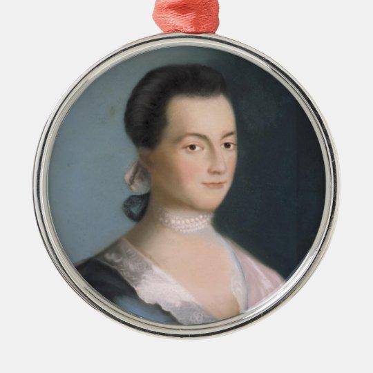 Young Abigail Adams Portrait Ornament