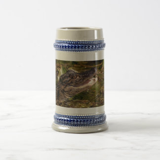 Young Alligator Beer Stein