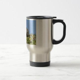 Young Alpine marmot Travel Mug