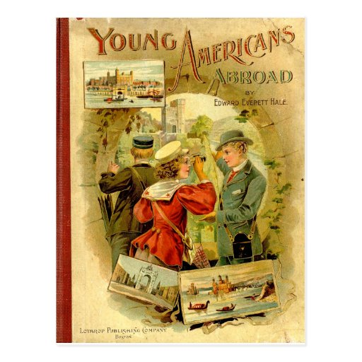 Young Americans Abroad Postcard