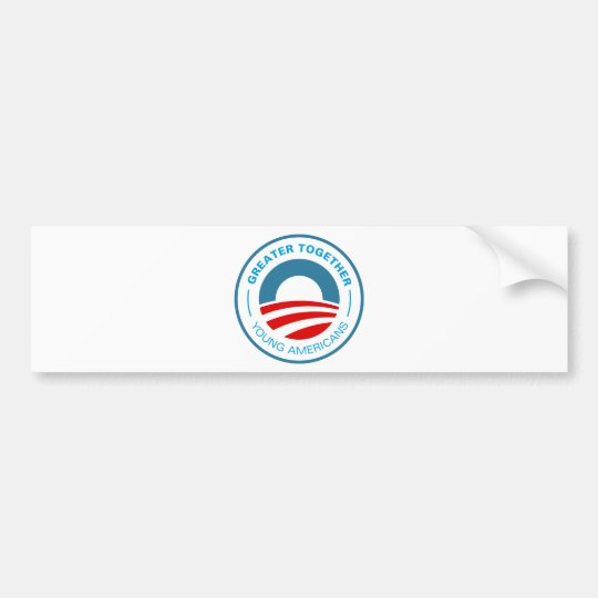Young Americans for Obama Bumper Sticker