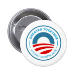 Young Americans for Obama Pin