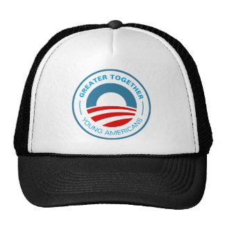 Young Americans for Obama Trucker Hat