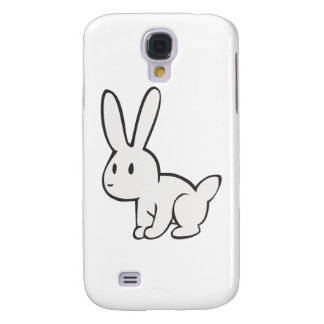 Young and Cute White Rabbit Galaxy S4 Covers