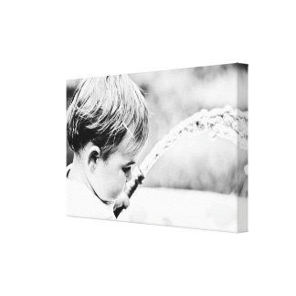 Young and Innocent Summer Canvas Print