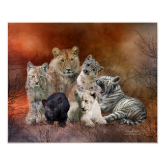 Young And Wild Art Poster/Print Poster