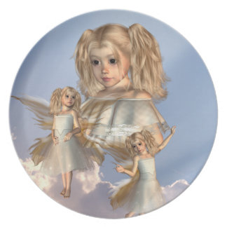 Young Angels Plate