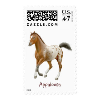 Young Appaloosa Horse Postage