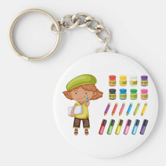 Young Artist Keychain