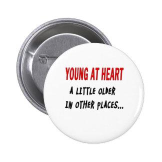 Young at Heart Pins