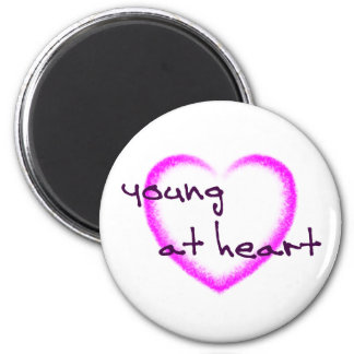 Young at heart magnet