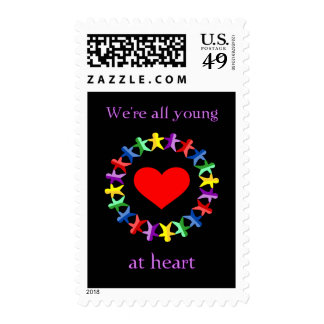 Young At Heart Postage Stamps