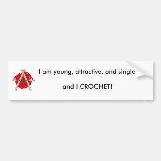 Young Attractive & Single Bumper Sticker