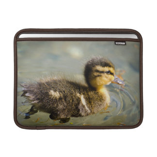 Young Baby Duck Swimming In Water Sleeve For MacBook Air