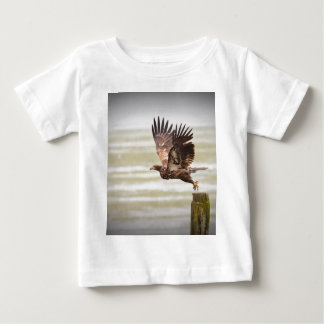 Young Bald Eagle Baby T-Shirt