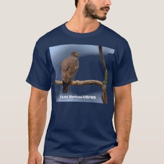 Young Bald Eagle has left the Nest T-Shirt