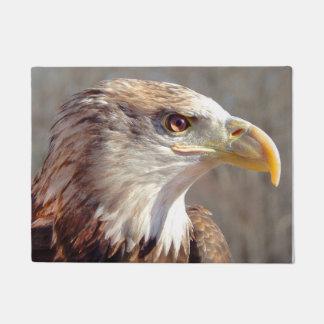 Young Bald Eagle Profile Doormat