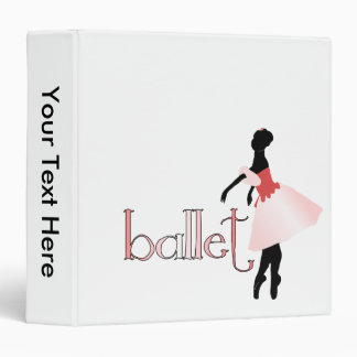 Young Ballerina Binders