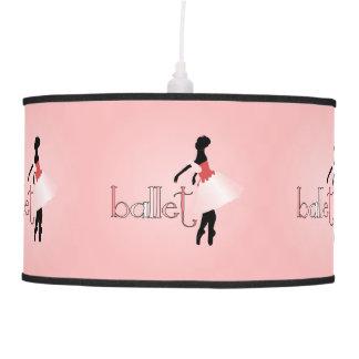 Young Ballerina Pendant Lamp