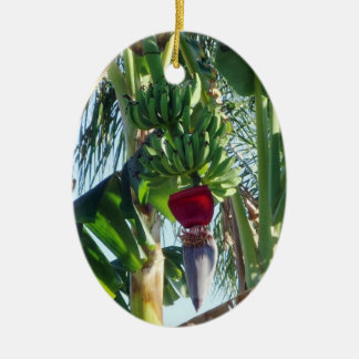 Young Bananas Custom Ceramic Ornament