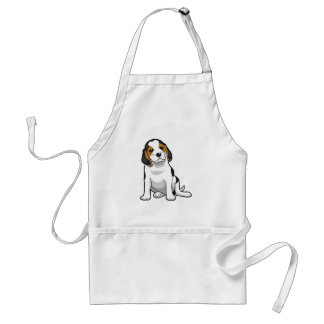 Young Beagle Puppy Apron