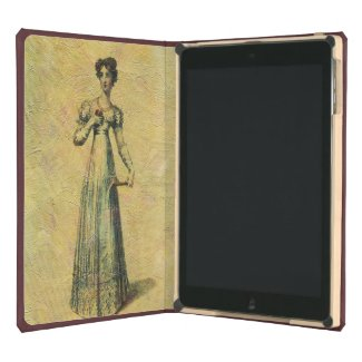 Young Beautiful Vintage Woman Painting iPad Air Cases