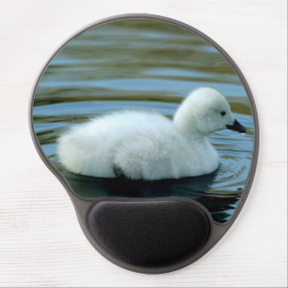 Young Black Neck Swan Mousepad Gel Mouse Pad