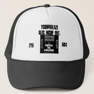 YOUNG-BLAZE, YoungBlaze Slic Mouf ent., 728, 904 Trucker Hat