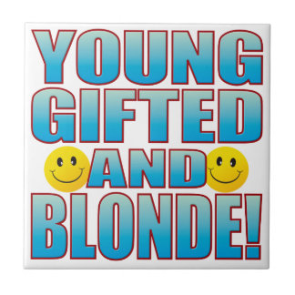 Young Blonde Life B Tile