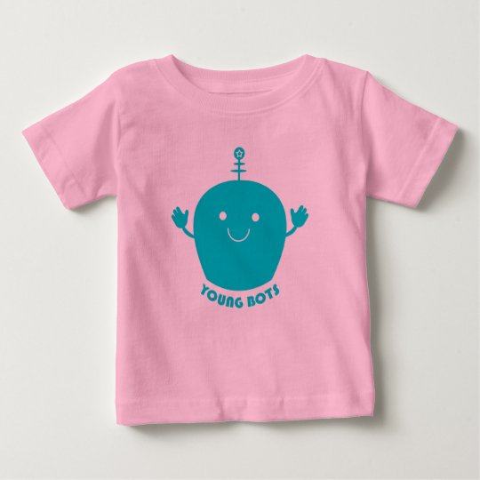 """""""Young BOTS"""" (blue) Baby T-Shirt"""