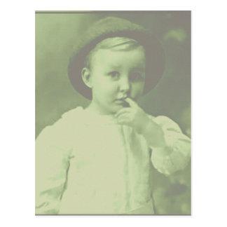 Young Bowler Postcard
