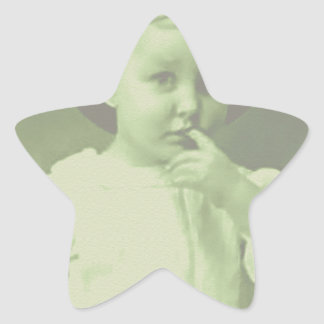 Young Bowler Star Sticker