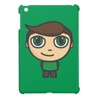 Young Boy Cartoon Character iPad Mini Case