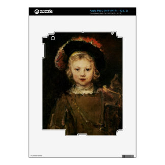 Young Boy in Fancy Dress, c.1660 (oil on canvas) iPad 3 Decals