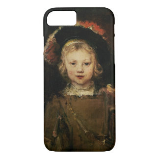 Young Boy in Fancy Dress, c.1660 (oil on canvas) iPhone 8/7 Case